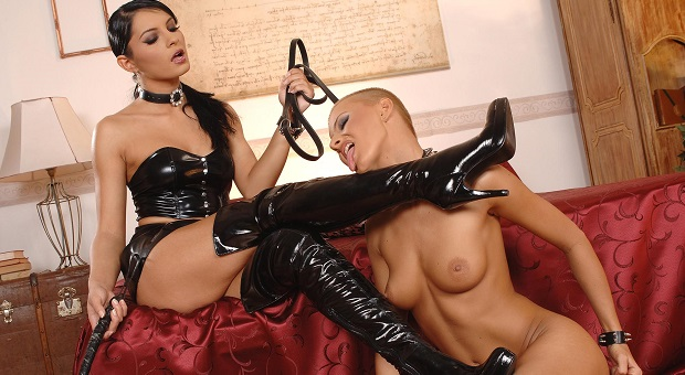 leather sex domination